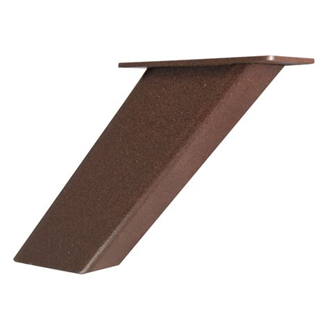 Countertop Support Brackets by Shop Federal Brace Noda 5 In X 2 In X 4 In Bronze