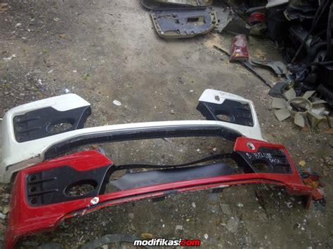 Bumper Set Sloop Depan Belakang bekas add on mugen copotan depan bumper depan belakang yaris 2012