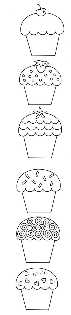 squidoo templates cupcake coloring pages cupcakes http www squidoo