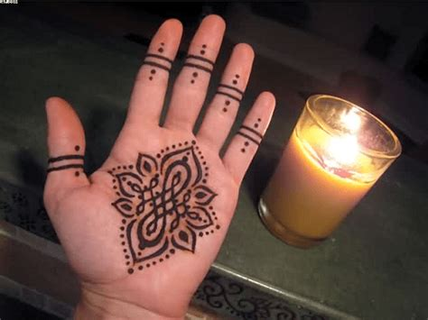 henna tattoo inner hand 40 simple and easy henna mehndi designs for beginners