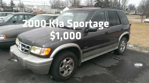 Kia Sportage Used Cars For Sale 2000 Kia Sportage Ex 1000 Kia Sportage Used Cars