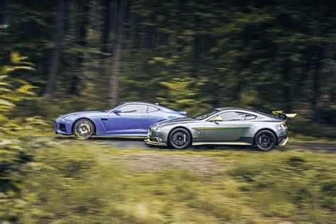 Aston Martin Jaguar by Aston Martin Vantage Gt8 Vs Jaguar F Type Svr Test