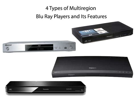 4 types of multiregion players and its features