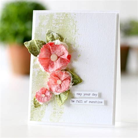 Flowers With Gift Card - 237 best images about card ideas flowers on pinterest cards cardmaking and flower