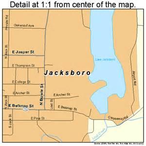jacksboro map 4837168