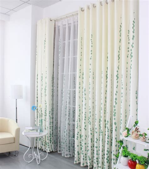 designer blackout curtains free shipping leaf design modern blackout curtains for
