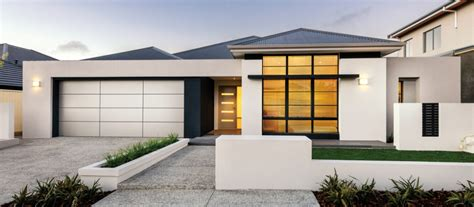 single story house elevation single storey display homes perth apg homes
