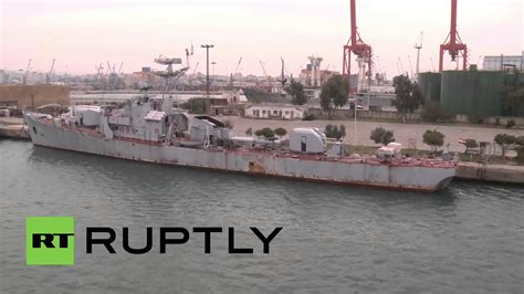 Syari Navy syria see inside the crucial tartus port that supports russia s navy