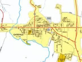 map of gatesville gatesville city map gatesville mappery