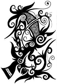 tato simbol dayak iban tattoo design sarawak pinterest iban tattoo