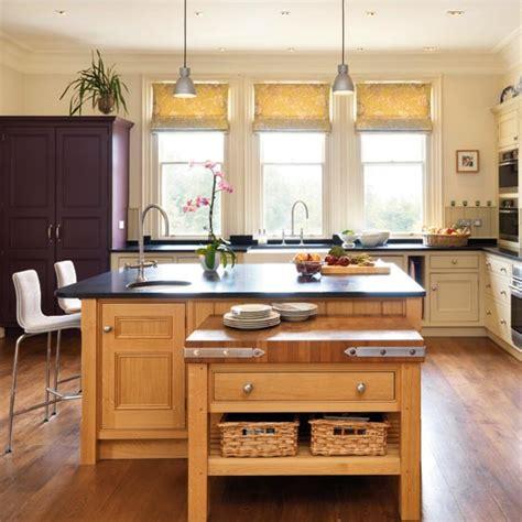 island unit take a tour around a sleek contemporary take a tour around a kitchen with a dramatic island unit