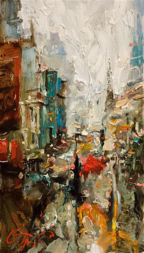 show de painting oleg trofimov 1962 russian impressionist painter tutt