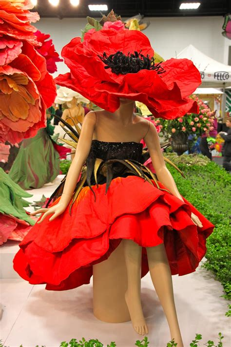 rose themed dress tailored flowers at the royal adelaide show a photo essay