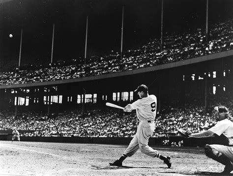 ted williams baseball swing backstory how oak cliff s minor league team gave the