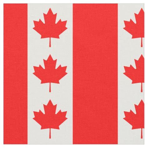 pattern fabric canada canada flag pattern fabric zazzle