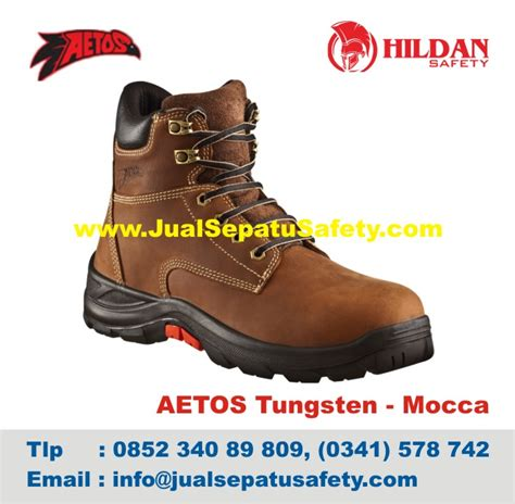Sepatu Safety Aetos sepatu safety shoes aetos tungsten 813118 mocca