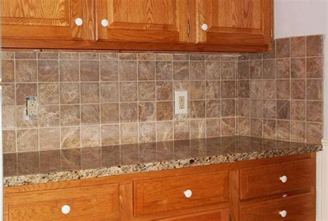 kitchen with tile backsplash tumbled marble backsplash pictures and design ideas