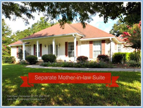 houses with in law suite theodore home for sale separate mother in law suite