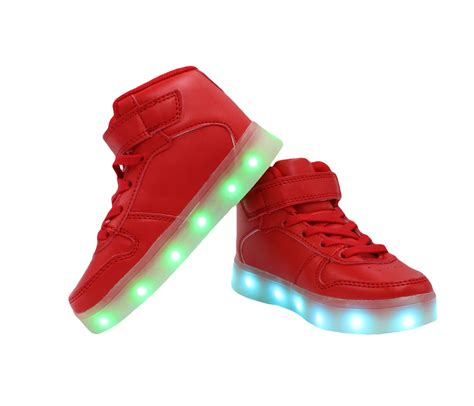 shoes with lights for galaxy led shoes light up usb charging high top lace