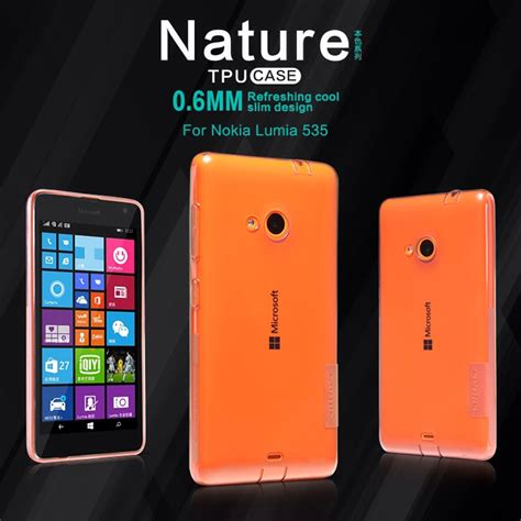 Casing Hp Nokia Lumia 535 jual soft nillkin microsoft lumia 535 tpu nature