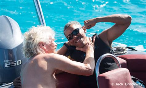 obama on necker island barack obama learned to kitesurf on vacation time com