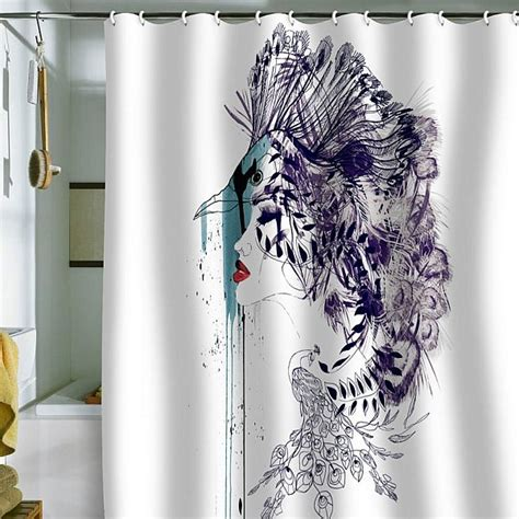 typography shower curtain refreshing shower curtain designs for the modern bath