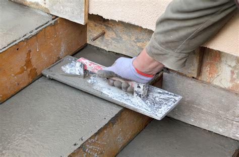 terrasse betonieren kosten treppe betonieren 187 anleitung in 4 schritten