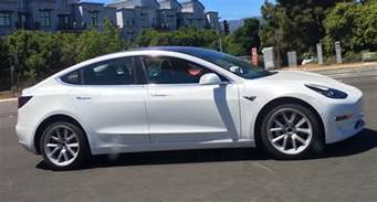 tesla car colors more tesla model 3 colors being spotted ahead of official