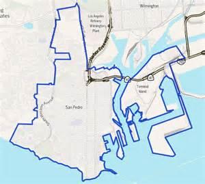 map of san pedro california san pedro los angeles