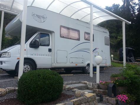 carport wohnmobil carport wohnmobil affordable carport auf standzelt with