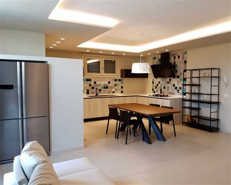 ingresso cartongesso cucina dining cartongesso led residenza cesenatico with