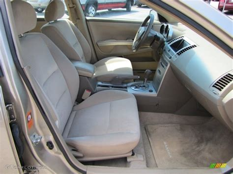 2005 Nissan Maxima Interior by Cafe Latte Interior 2005 Nissan Maxima 3 5 Se Photo