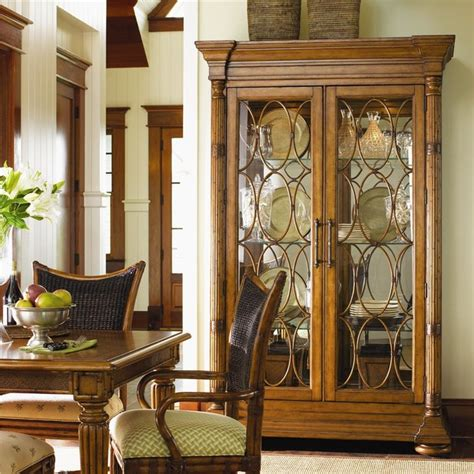 Ikea Dining Room Display Showcases In Wood Dining Room Miami Display Cabinet