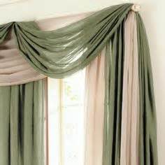 Jcpenney Curtains And Drapes 1000 Images About Ways To Hang A Scarf Valance On
