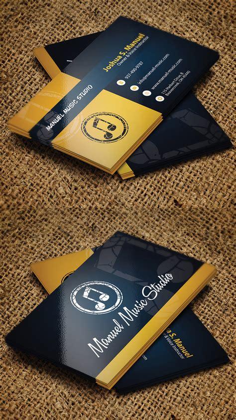 business card psd templates mockups design