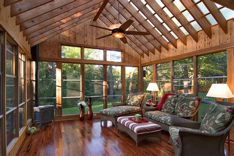 Add On Sunroom Plans Timeless 30 Cozy And Creative Rustic Sunrooms