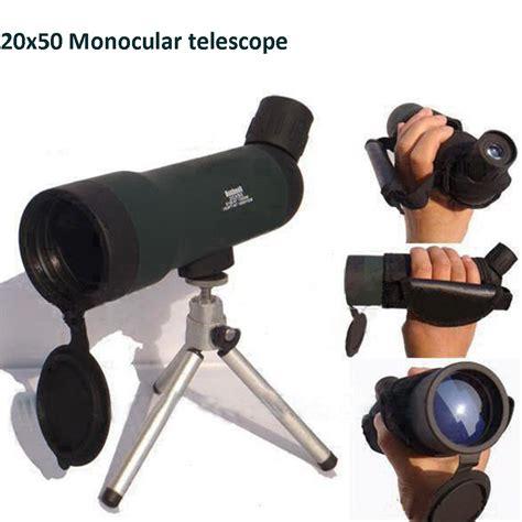 20x50 monocular telescope zoom hd monocular bird watching