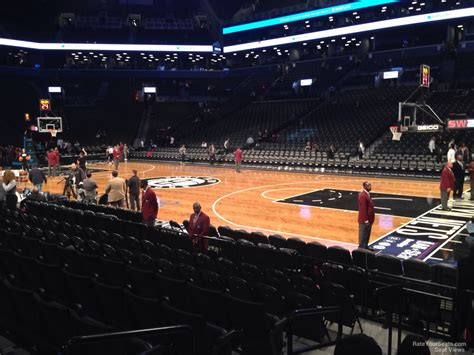 section 6 barclays center barclays center section 6 brooklyn nets rateyourseats com