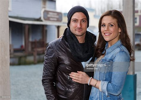 daniel and erin fans quot when calls the heart quot convention getty images