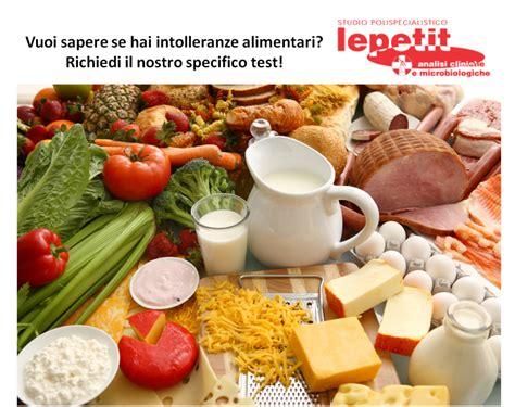 analisi intolleranza alimentare intolleranze alimentari laboratorio analisi lepetit