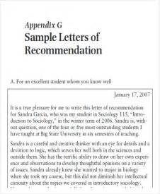 Letter Of Recommendation From A Doctor by Sle Physician Letter Of Recommendation 7 Exles In Word Pdf