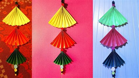 how to make hanging l with paper how to make diy wall hanging home decoration idea