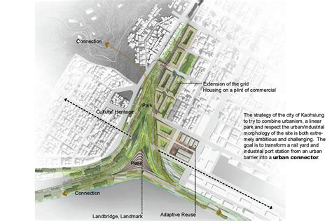 urban design proposal ideas gallery of kaohsiung port station urban design competition