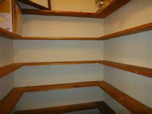 Building Pantry Shelves Design by Planning Ideas Two Corner Pantry Shelving Plans Pantry