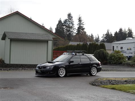 black subaru rims black 07 with white rims wrx pics pinterest white