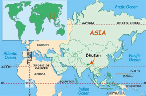 where is bhutan on a world map a week in bhutan the happiest country in the world
