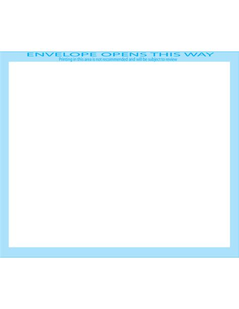 booklet envelope template booklet envelopes 4 3 4 x 6 1 2 front free