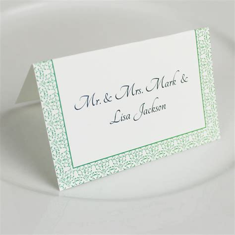 place card template vintage reception place card template print