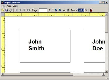 Volunteer Management System Printing Labels Reports Volunteer Name Tag Template