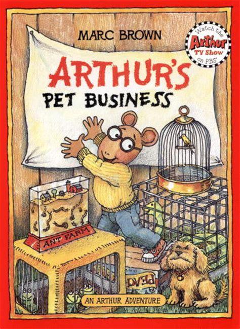 arthur s arthur s pet business book arthur wiki fandom